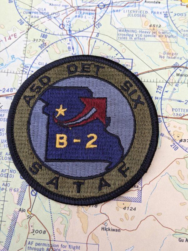 ASD DET SIX - SATAF - B-2 Patch