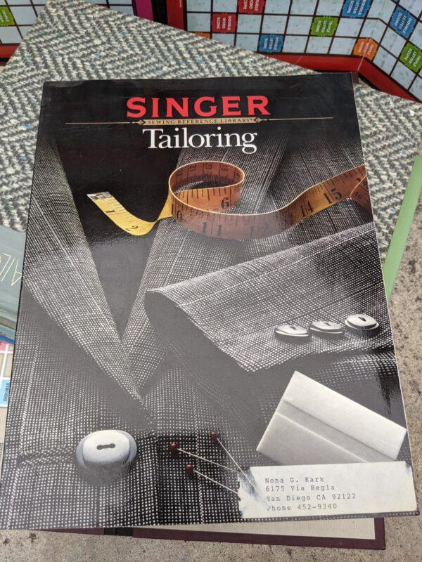 Tailoring, by Singer, 1988
