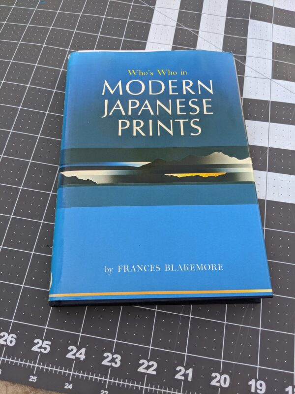 Who's Who in Modern Japanese Prints, by Frances Blakemore