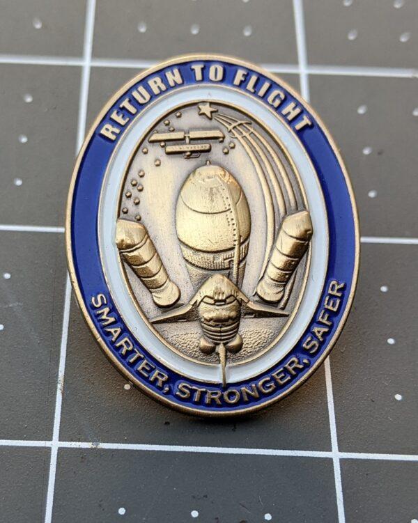 NASA Space Shuttle Return to Flight - Smarter, Stronger, Safer - Boeing RTF Official Commemorative Edition 3