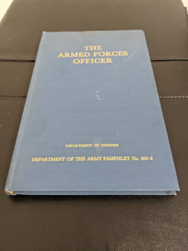 The Armed Forces Officer by US Department of Defense 1950