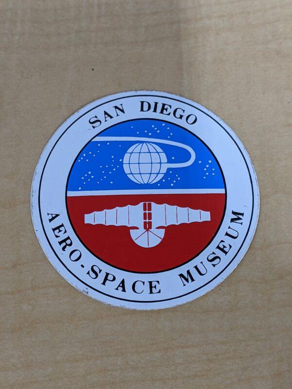 "San Diego Aero-Space Museum 3"" Decal"