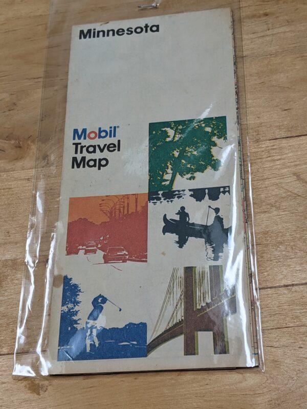 Mobil Travel Map - Minnesota