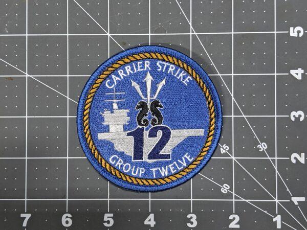 "CSG-12 Carrier Strike Group Twelve 3.5"" Patch"