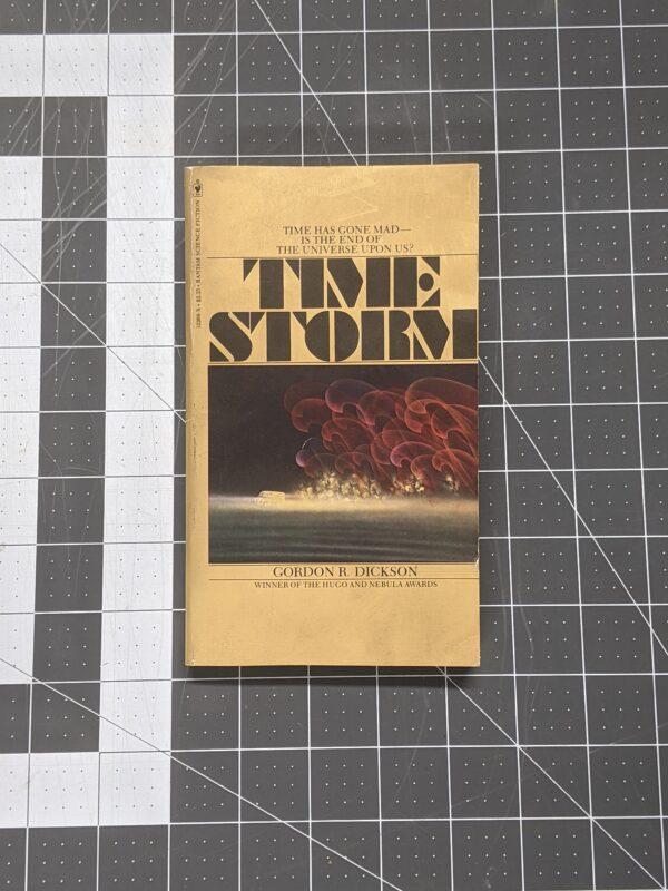 Time Storm by Gordon R. Dickson 1979