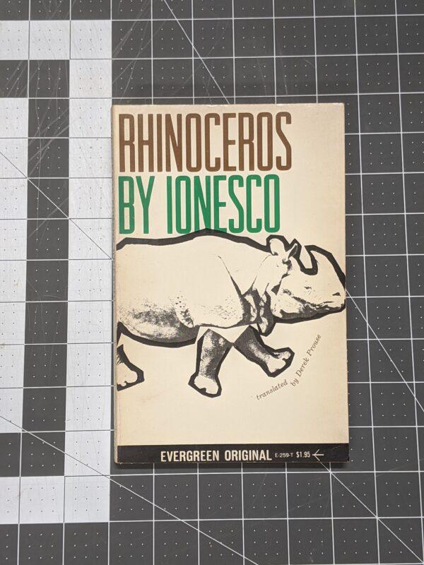 Rhinoceros by Ionesco 1960