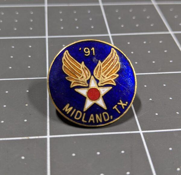 Midland, TX - '91 Air Force Pin