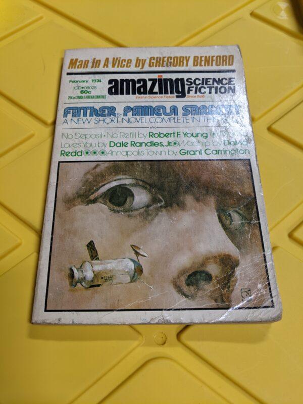 Amazing Science Fiction: February 1974
