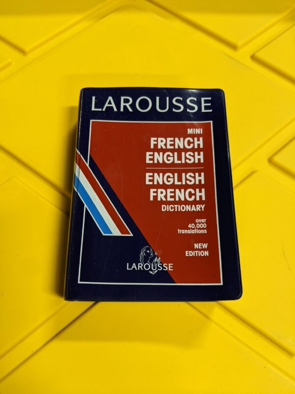 Mini French English Dictionary by Larousse 1995