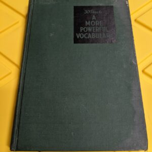 30 Days to A More Powerful Vocabulary by Wilfred Funk Inc. 1946