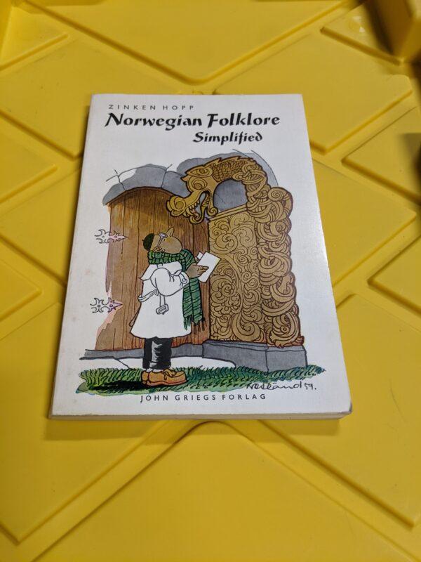 Norwegian Folklore: Simplified by John Griegs Forlag 1972