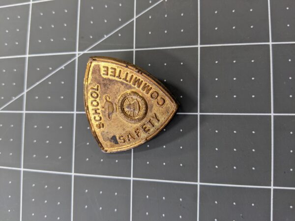 Vintage AAA Automobile Club of Southern California School Safety Committee Badge Pin