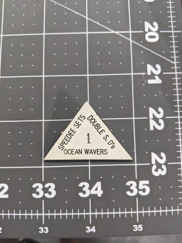 Speedee Sets - Double S. D's - Ocean Wavers - 1 - Vintage Square Dancing Pin