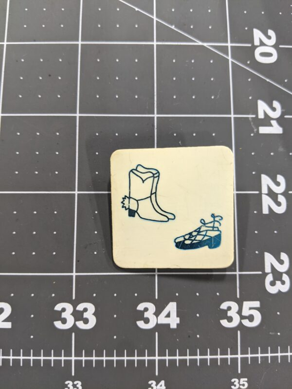 Boots and Slippers Vintage Square Dancing Pin