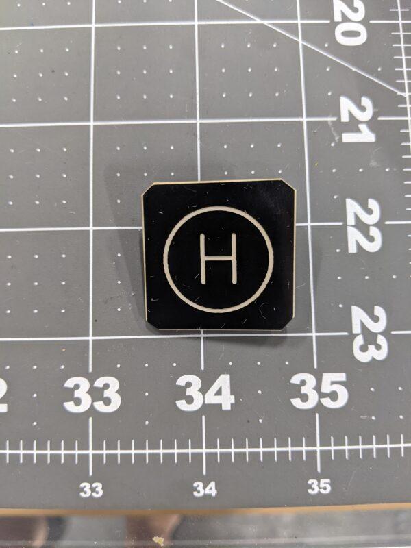 Circle H Promenaders Vintage Square Dancing Pin