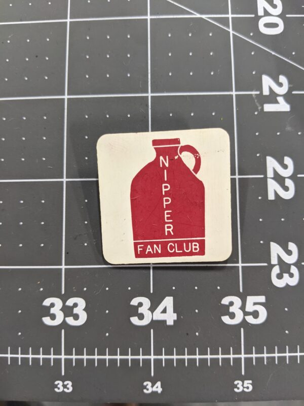 Nipper Fan Club - Vintage Square Dancing Pin