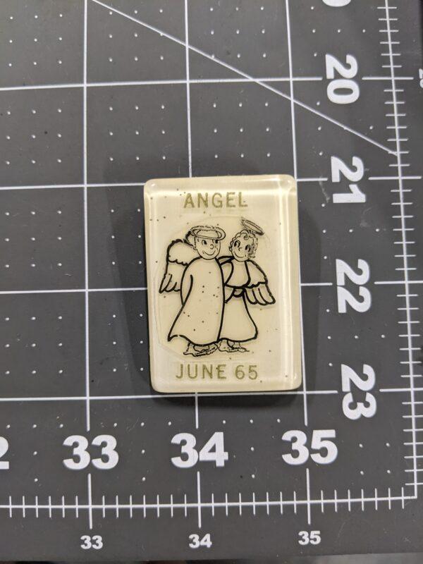 Angel - June 1965 - Vintage Square Dancing Pin