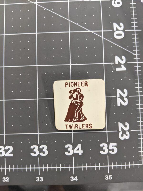 Pioneer Twirlers - Vintage Square Dancing Pin