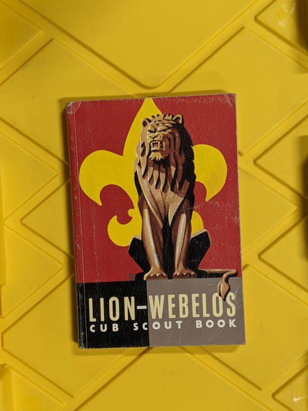 Lion-Webelos Cub Scout Book 1954