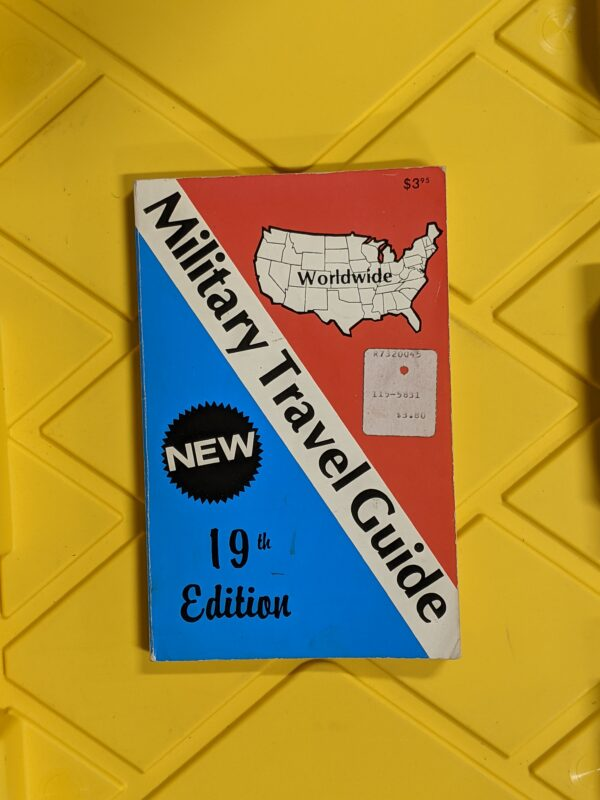 Military Travel Guide 19th Edition 1987