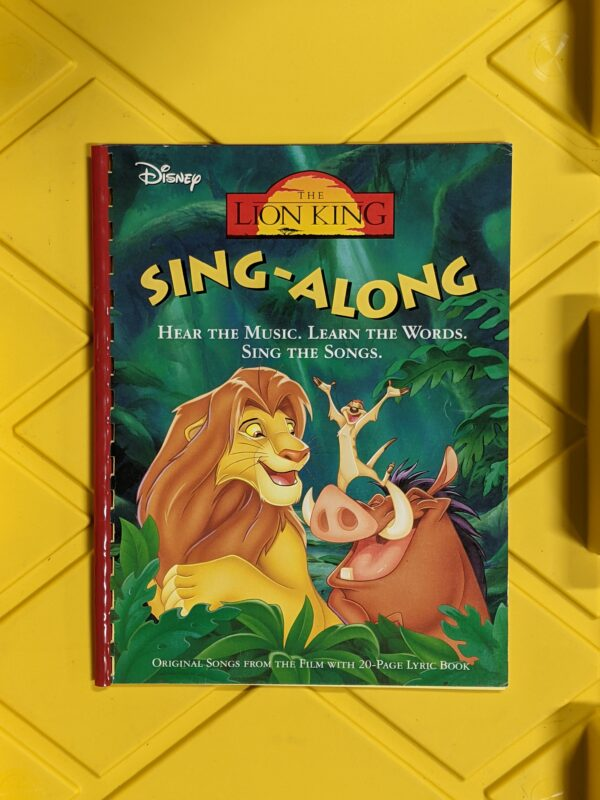 Disney's The Lion King: Sing-Along 1994