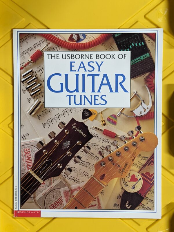 The Usborne Book of Easy Guitar Tunes by Emma Danes