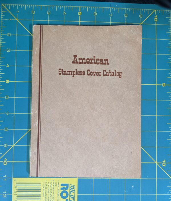 American Stampless Cover Catalog 1965