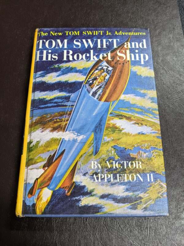 Tom Swift and His Rocket Ship by Victor Appleton II 1954