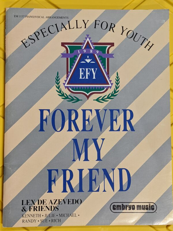 Especially for Youth: Forever My Friend by Lex de Azevedo 1989