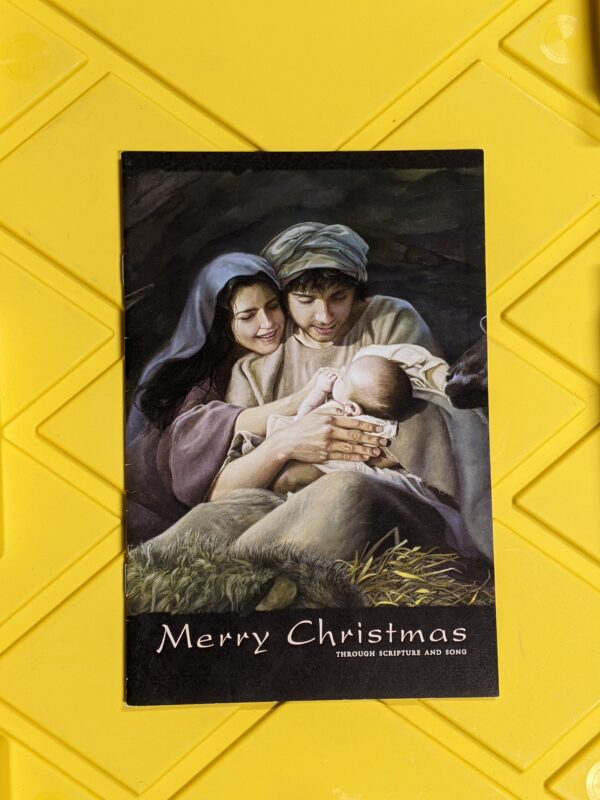 Merry Christmas: Through Scripture and Song by Foundation Arts