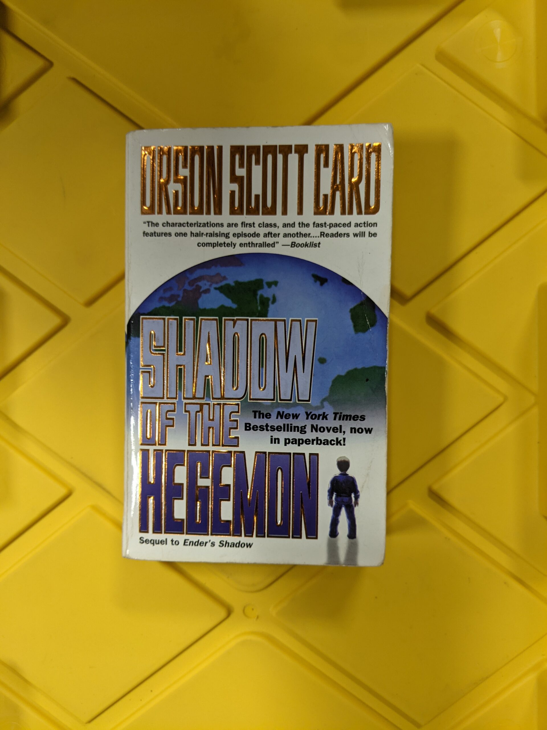 Shadow of the Hegemon by Orson Scott Card 2000
