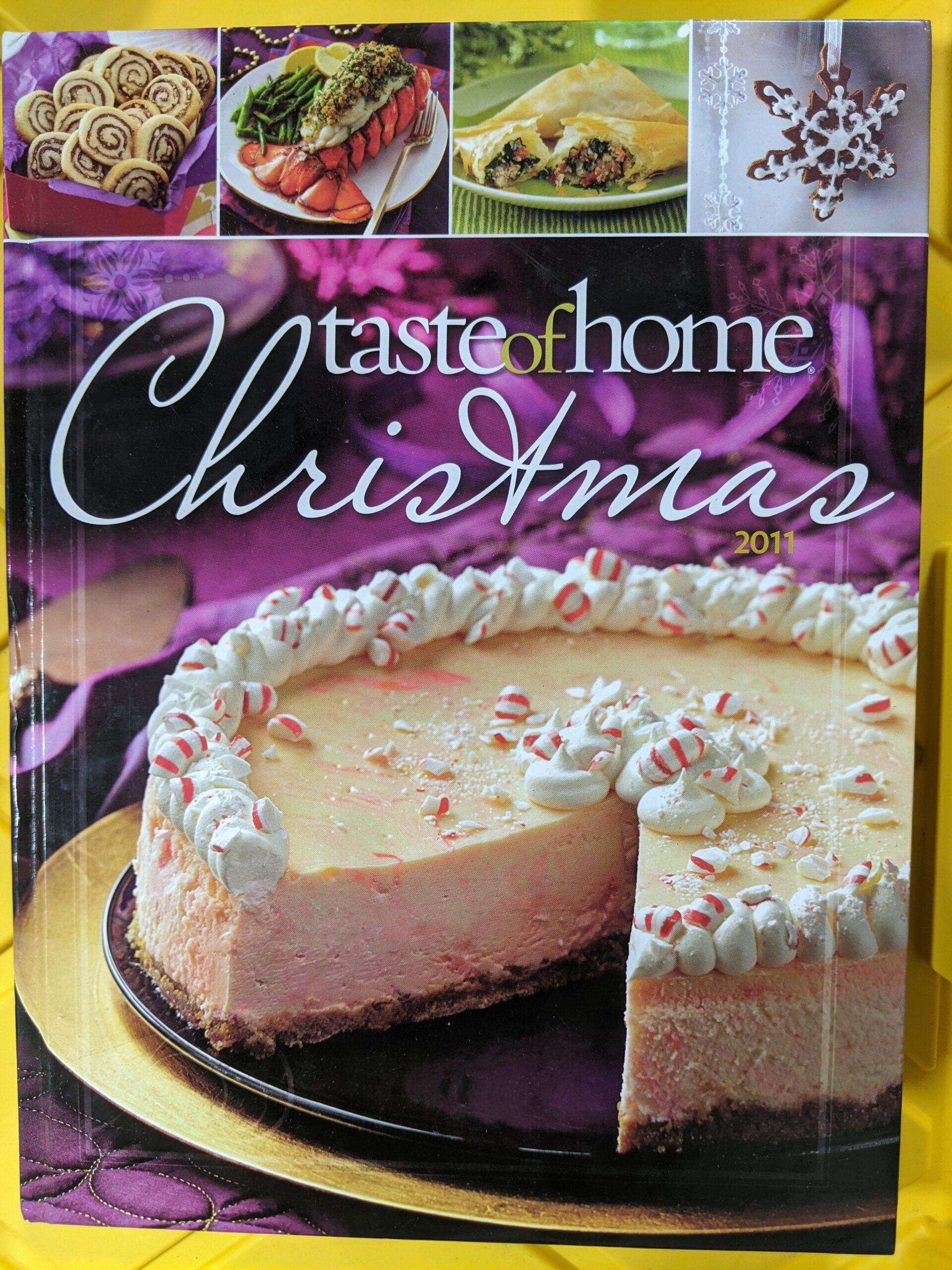 Taste of Home Christmas 2011 Cookbook
